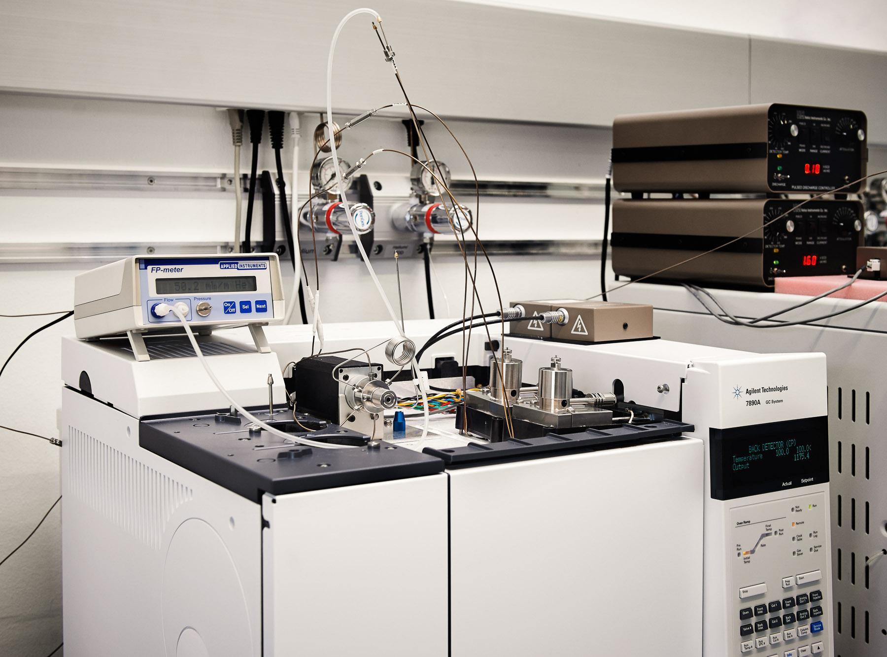 VICI-Ventil + Detektor in einer Anwendung